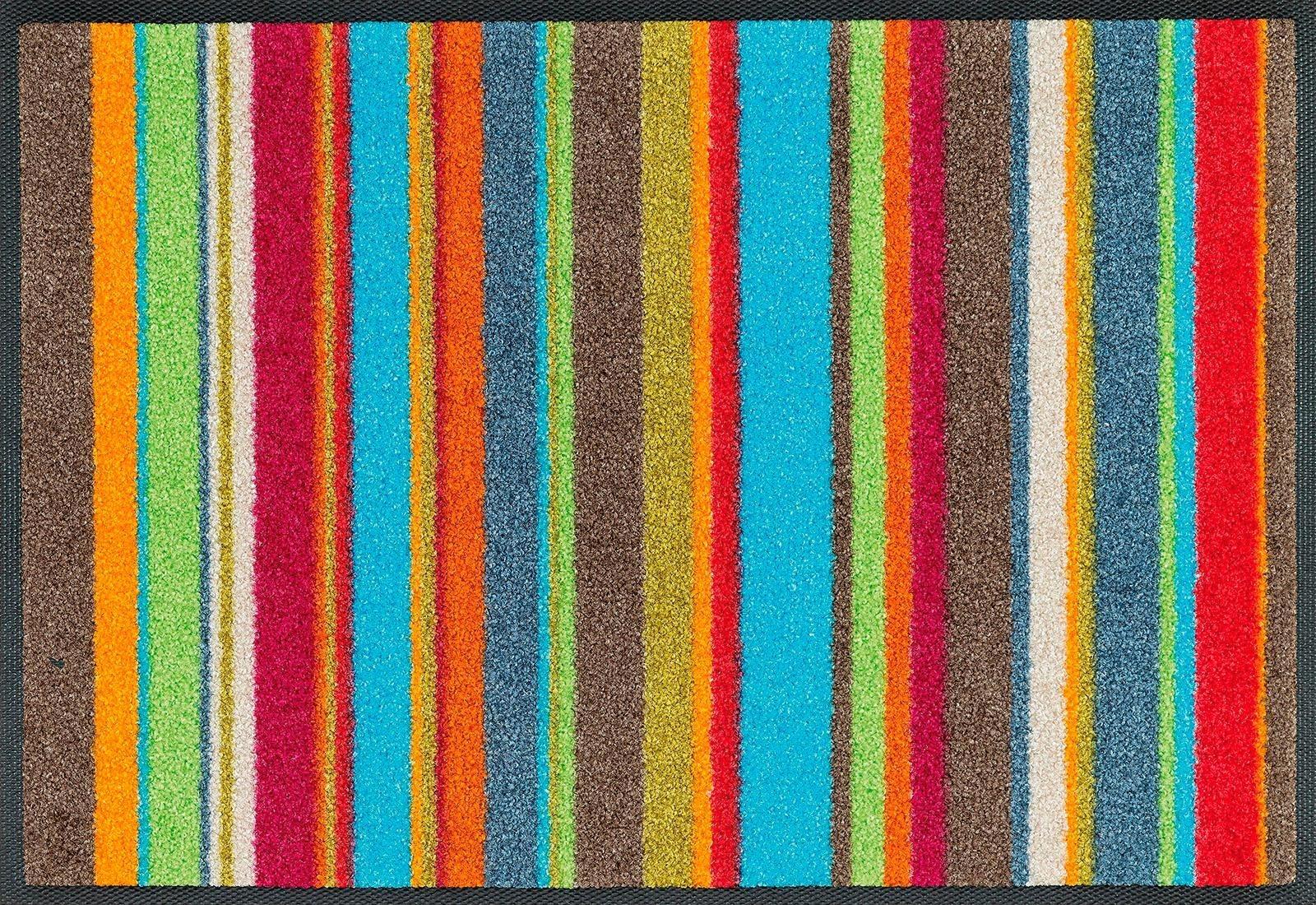 Fußmatte »Stripes«, wash+dry by Kleen-Tex, rechteckig, Höhe 7 mm | Heimtextilien > Fussmatten | wash+dry by Kleen-Tex