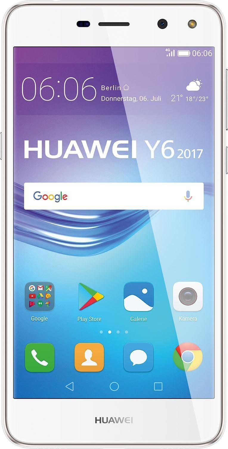 Huawei Y6 (2017) Dual SIM Smartphone (12,7 cm, 16 GB Speicherplatz)