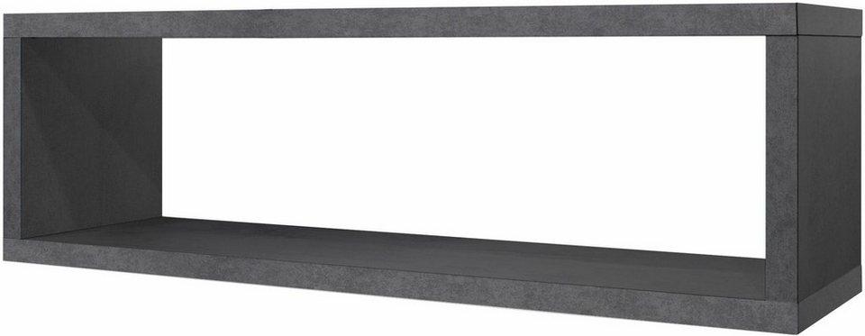 m usbacher wandregal mio rechteckig in verschiedenen farben online kaufen otto. Black Bedroom Furniture Sets. Home Design Ideas