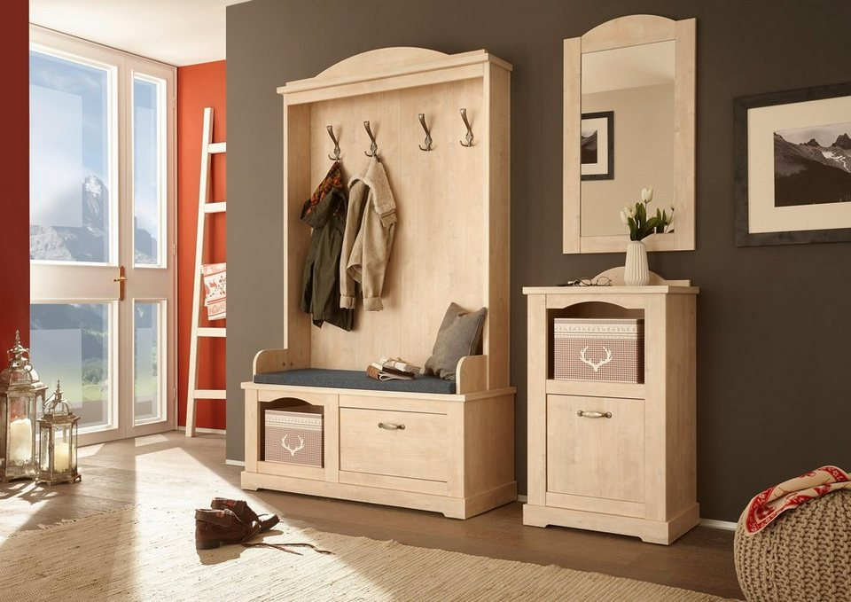 home affaire garderoben set arosa 3 tlg otto. Black Bedroom Furniture Sets. Home Design Ideas