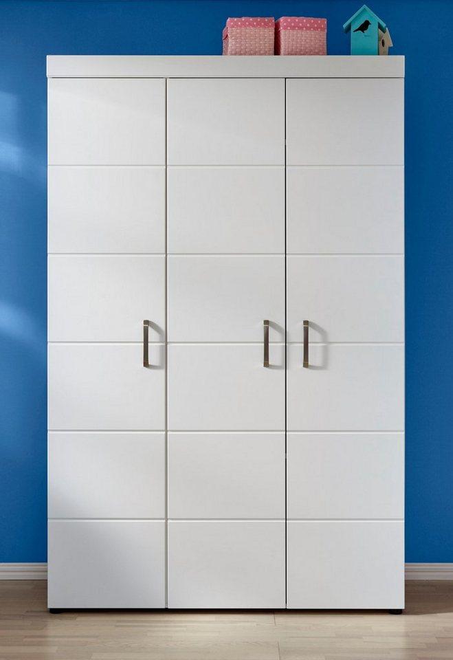 Kleiderschrank Dresden in weiß matt weiß   04251014192830