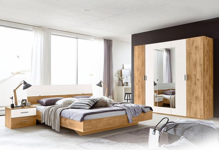 wimex schlafzimmer set 4 tlg mit dreht renschrank online kaufen otto. Black Bedroom Furniture Sets. Home Design Ideas