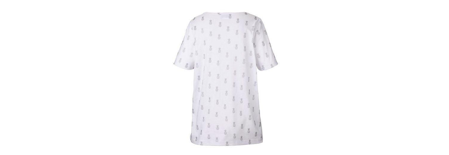 Laden Verkauf Mit Mastercard Günstigem Preis MIAMODA Shirt mit kleinen Ananasdruck-Motiven ePkdl