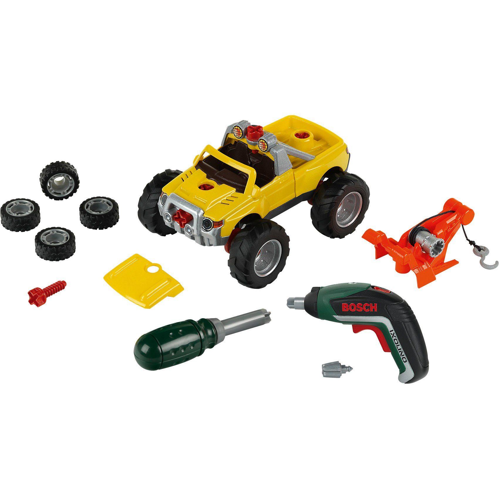 Klein Bosch Car Set, 3 in 1