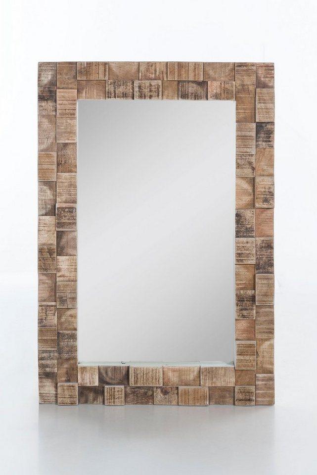 weisser rahmen spiegel machen sie den preisvergleich bei. Black Bedroom Furniture Sets. Home Design Ideas