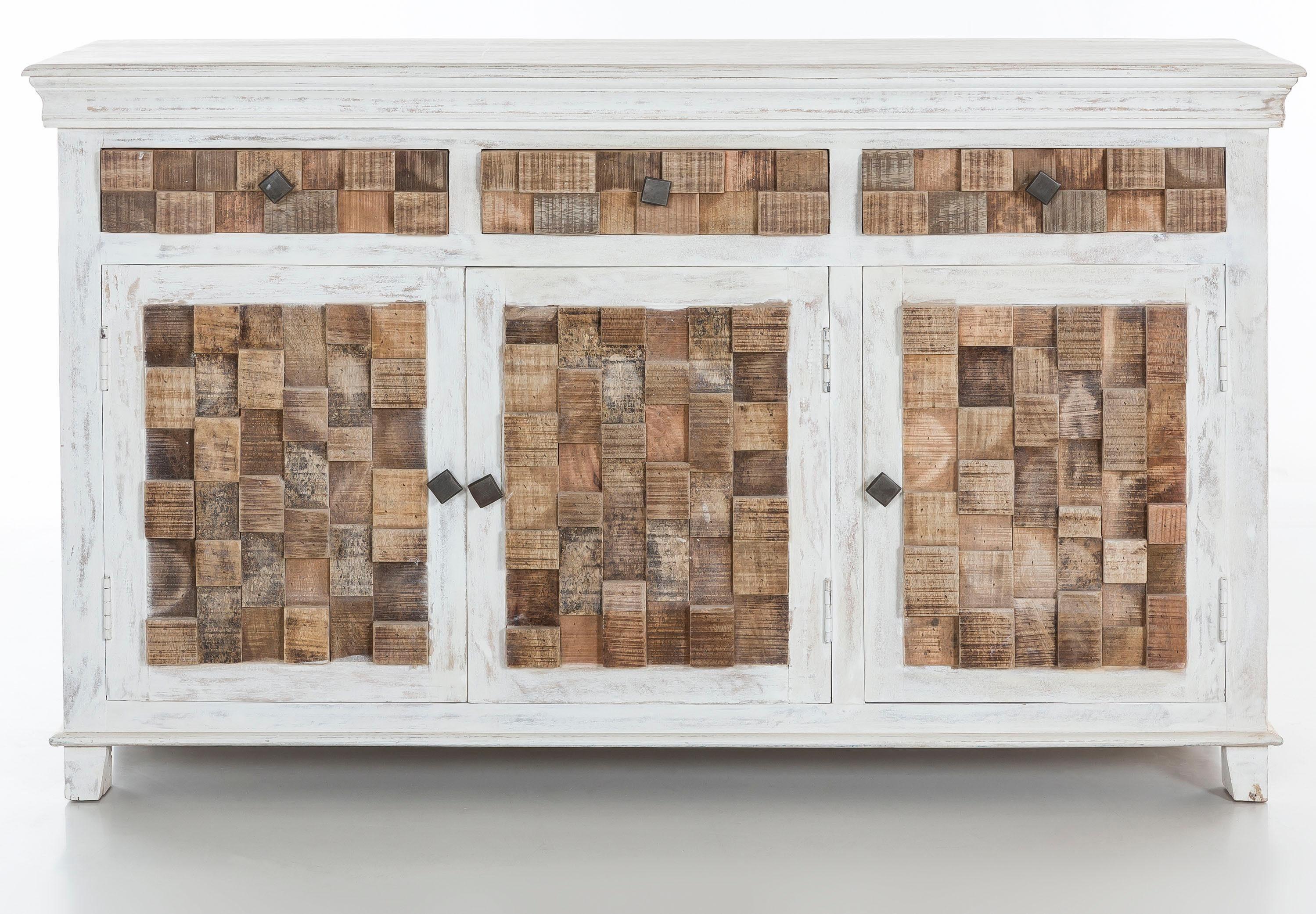 THE WOOD TIMES Sideboard »Bricks«, Breite 150 cm