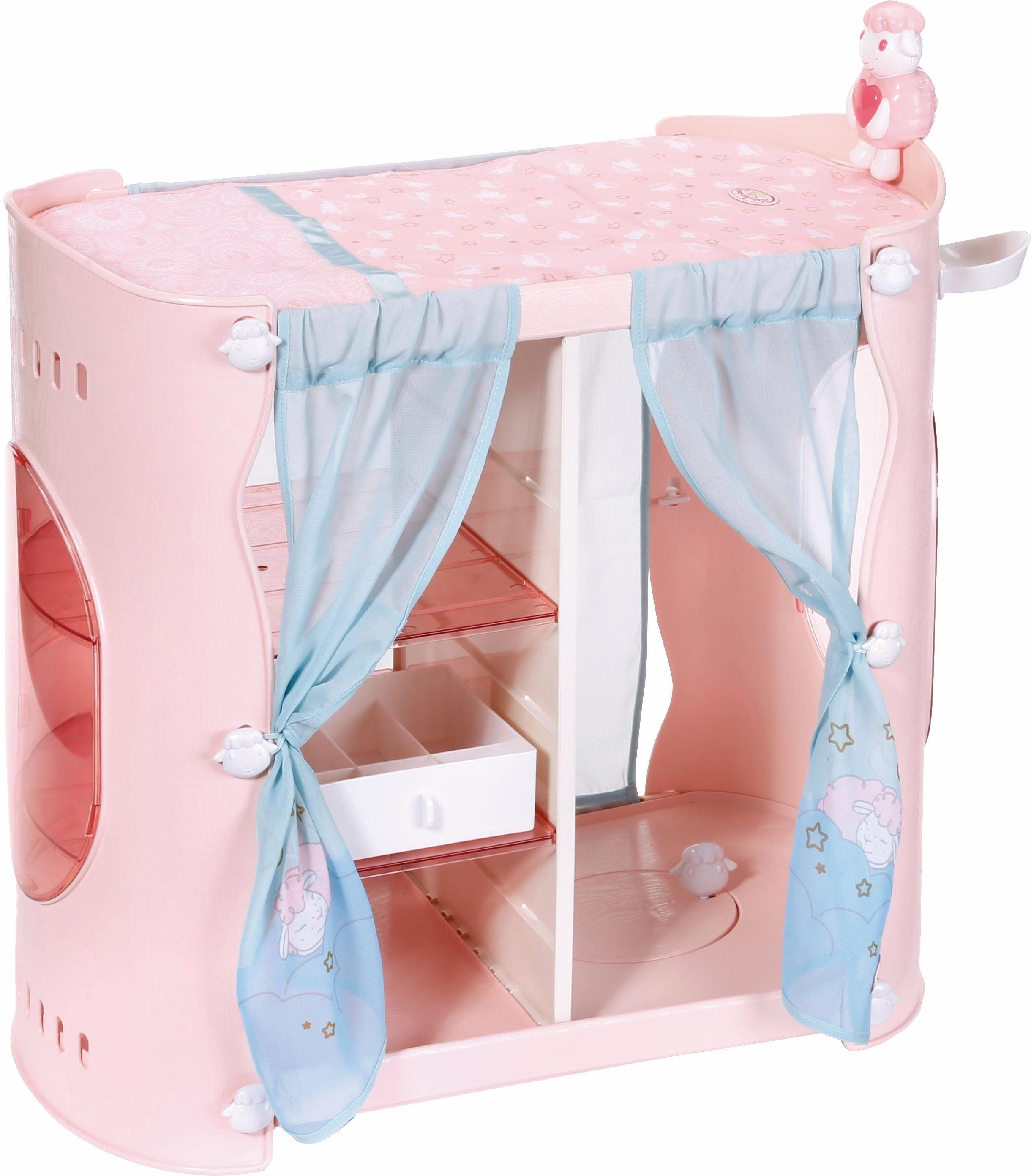 Zapf Creation Puppenmöbel mit Licht- und Soundfunktion, »Baby Annabell® Sweet Dreams 2in1 Schrank«