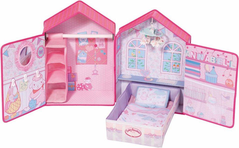 Zapf Creation Puppenzubeh 246 R 187 Baby Annabell 174 Schlafzimmer