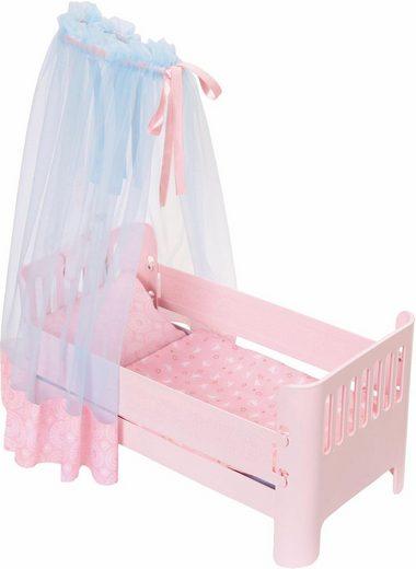 Baby Annabell »Sweet Dreams Bett« Puppenmöbel, mit Licht- und Soundfunktion