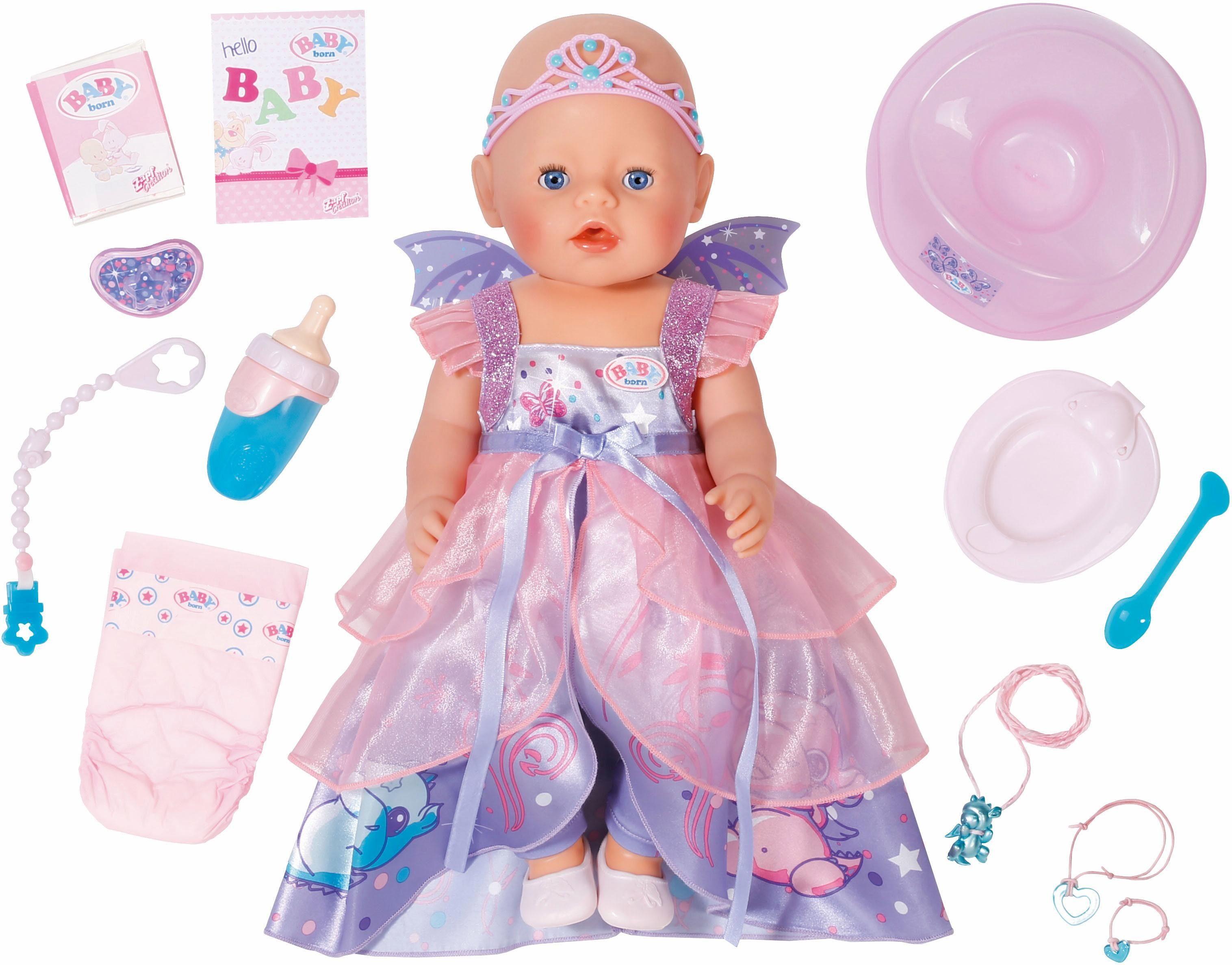 Zapf Creation Puppe mit Zubehör, »BABY born® Interactive Wonderland Puppe«
