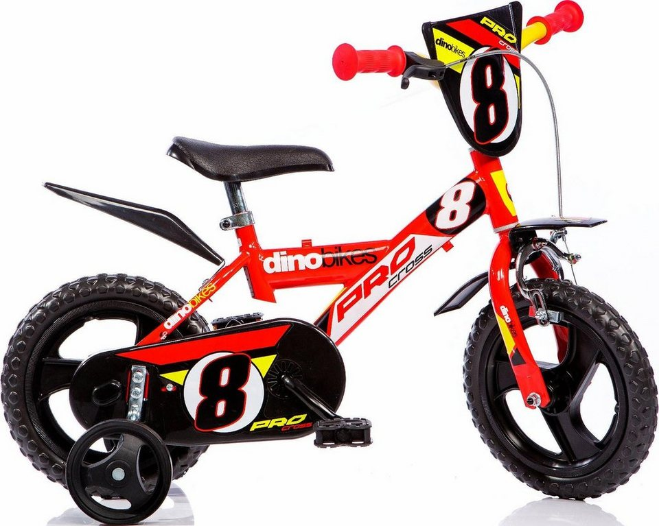 dino kinderfahrrad jungen 12 zoll 1 gang sporty. Black Bedroom Furniture Sets. Home Design Ideas