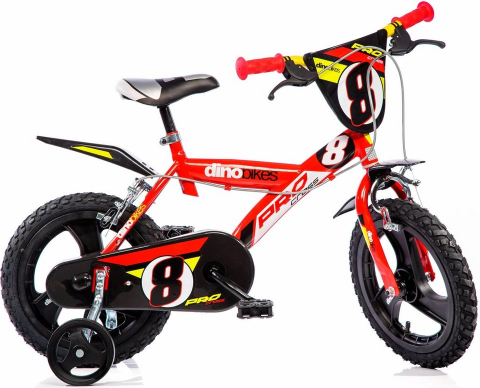 dino kinderfahrrad jungen 14 zoll 1 gang sporty. Black Bedroom Furniture Sets. Home Design Ideas