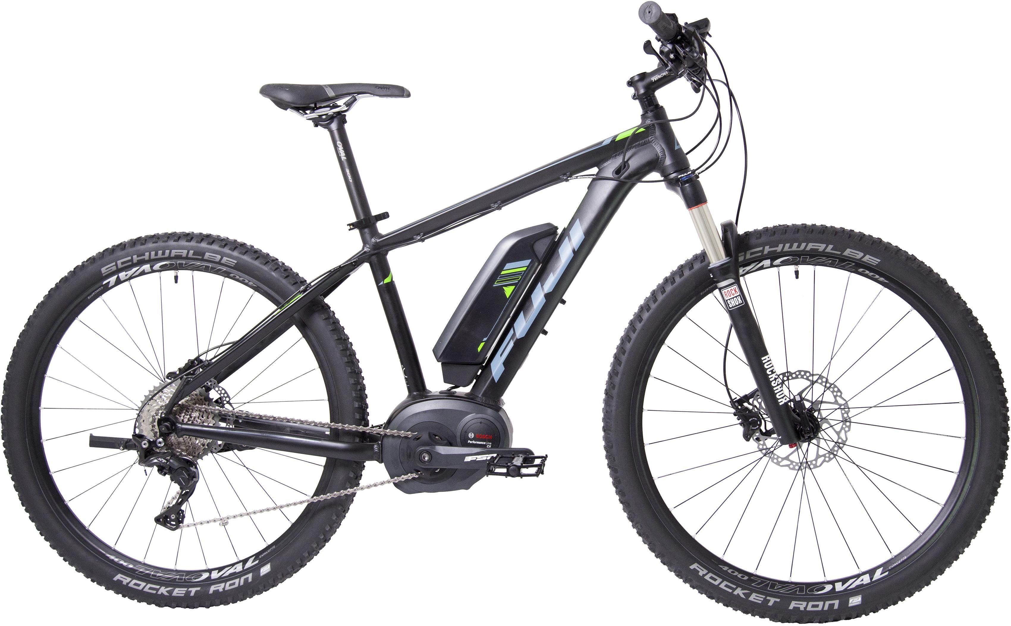 Fuji Herren MTB E-Bike Mittelmotor 36V/250W, 27,5 Zoll, 11 Gang Shimano Deore XT, »AMBIENT 1.1«