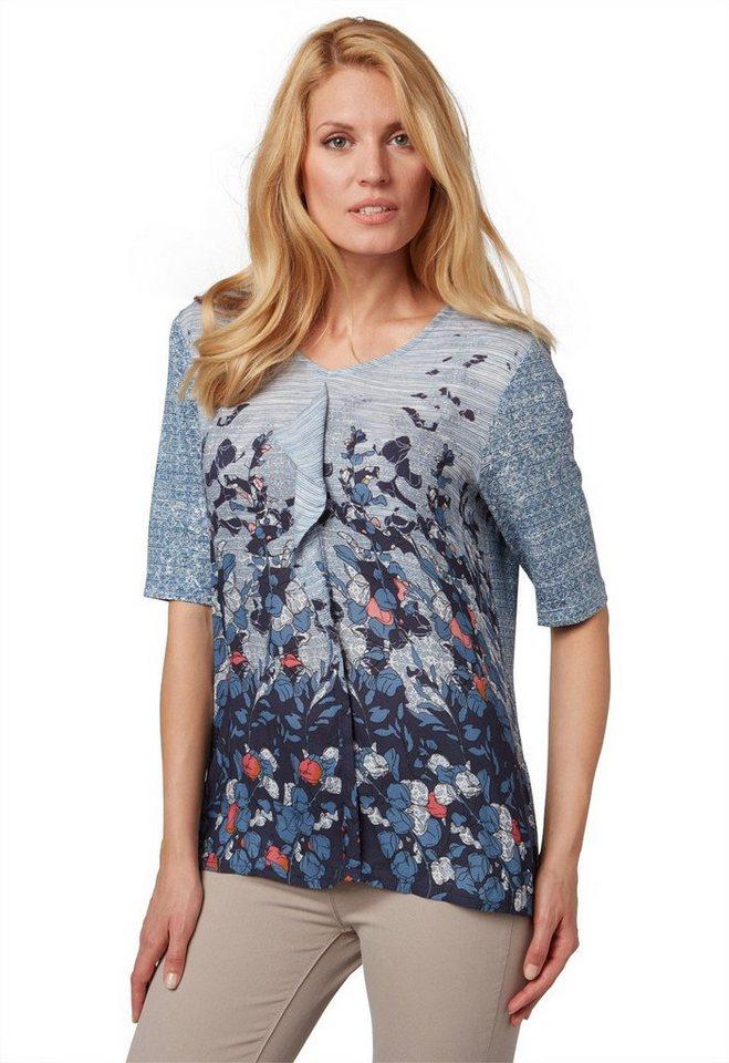 bonita blusenshirt mit volantdetail online kaufen otto. Black Bedroom Furniture Sets. Home Design Ideas