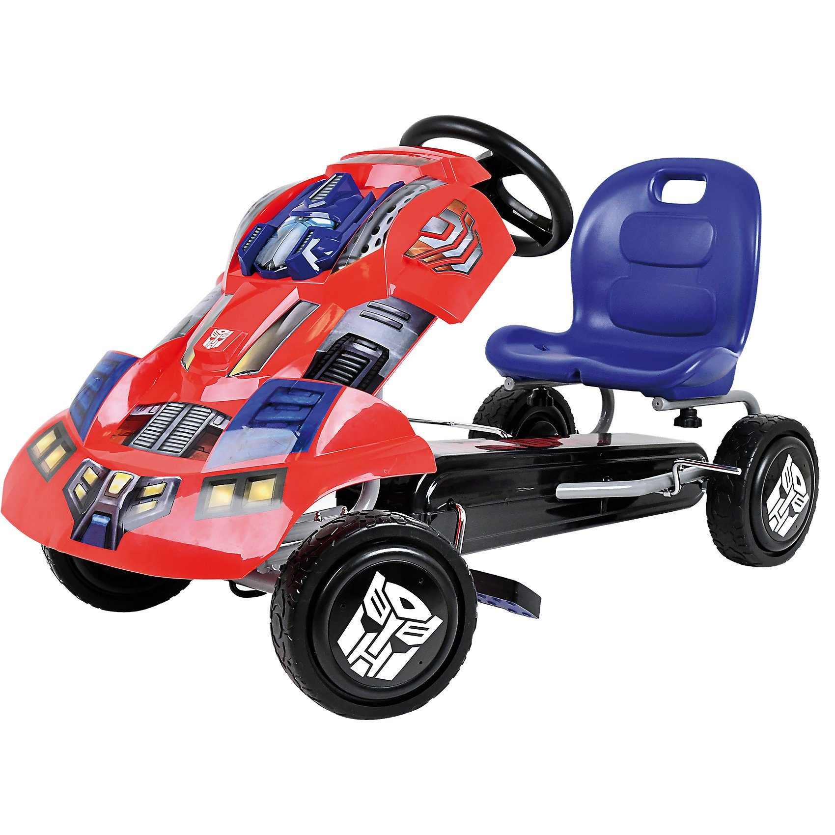 hauck Toys Transformers Optimus Prime Go-Kart, rot