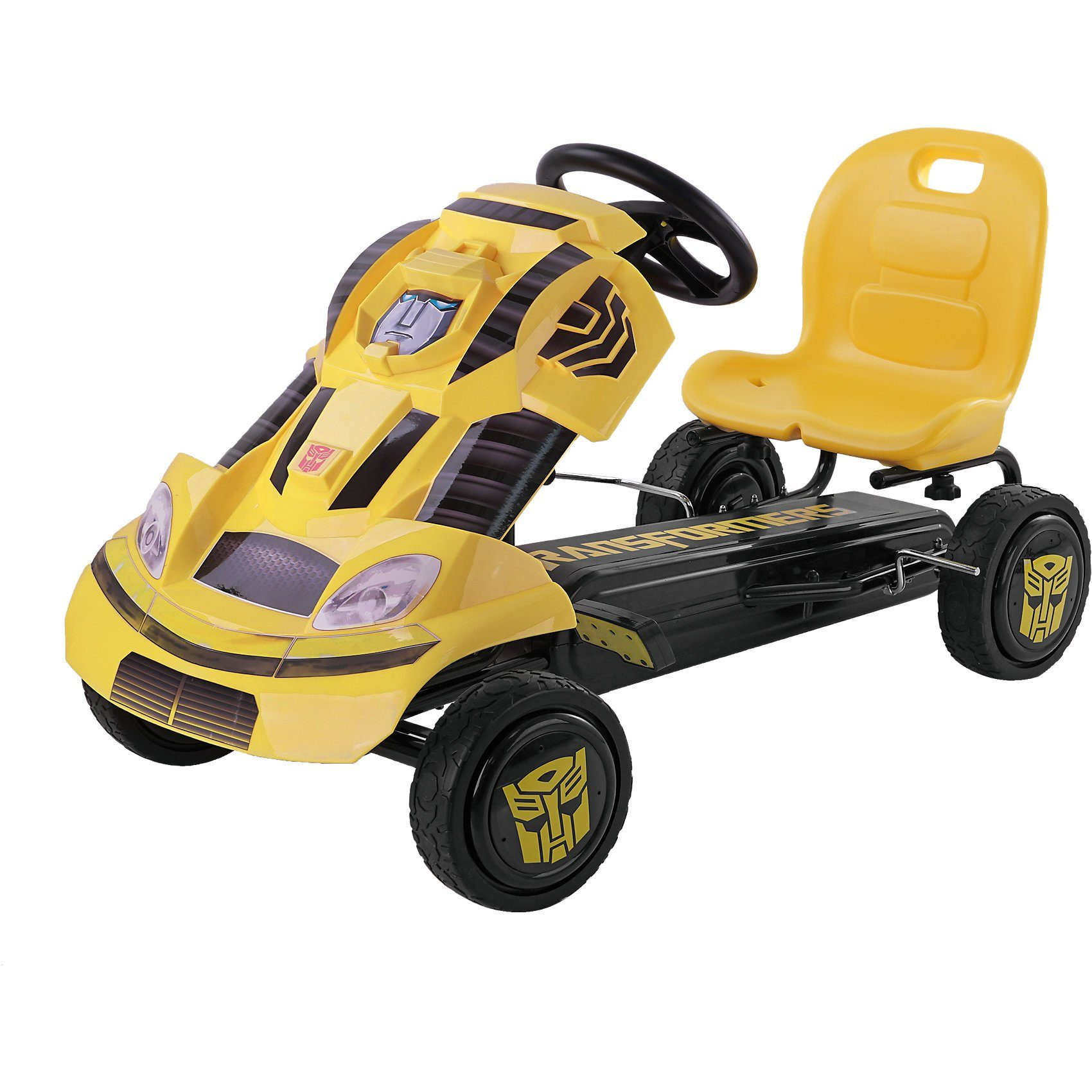 hauck TOYS FOR KIDS Transformers Bumblebee Go-Kart, gelb