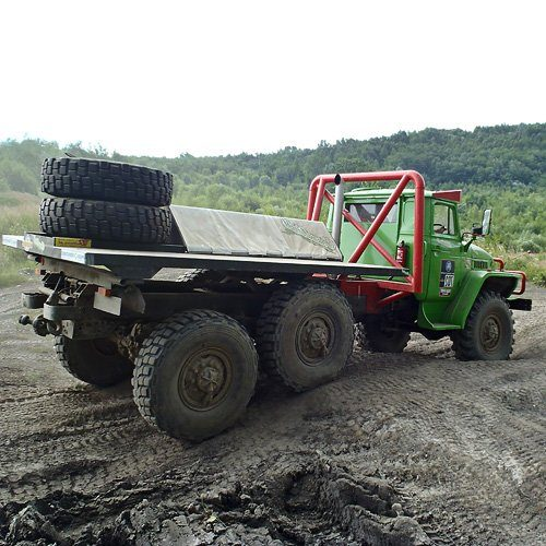 Offroad Challenge mit Ural 4320 6x6 Truck Trial »Amstetten«