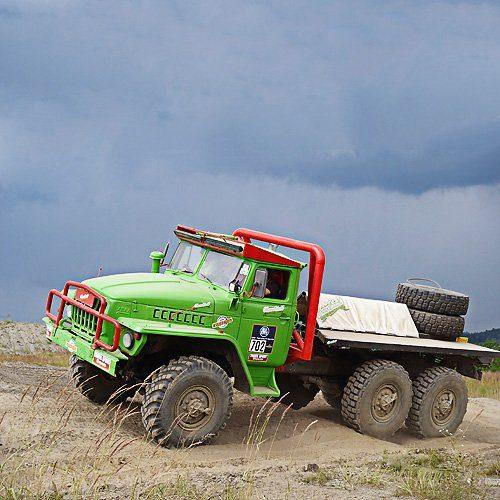 Offroad Challenge mit Ural 4320 6x6 Truck Trial »Voitsberg«