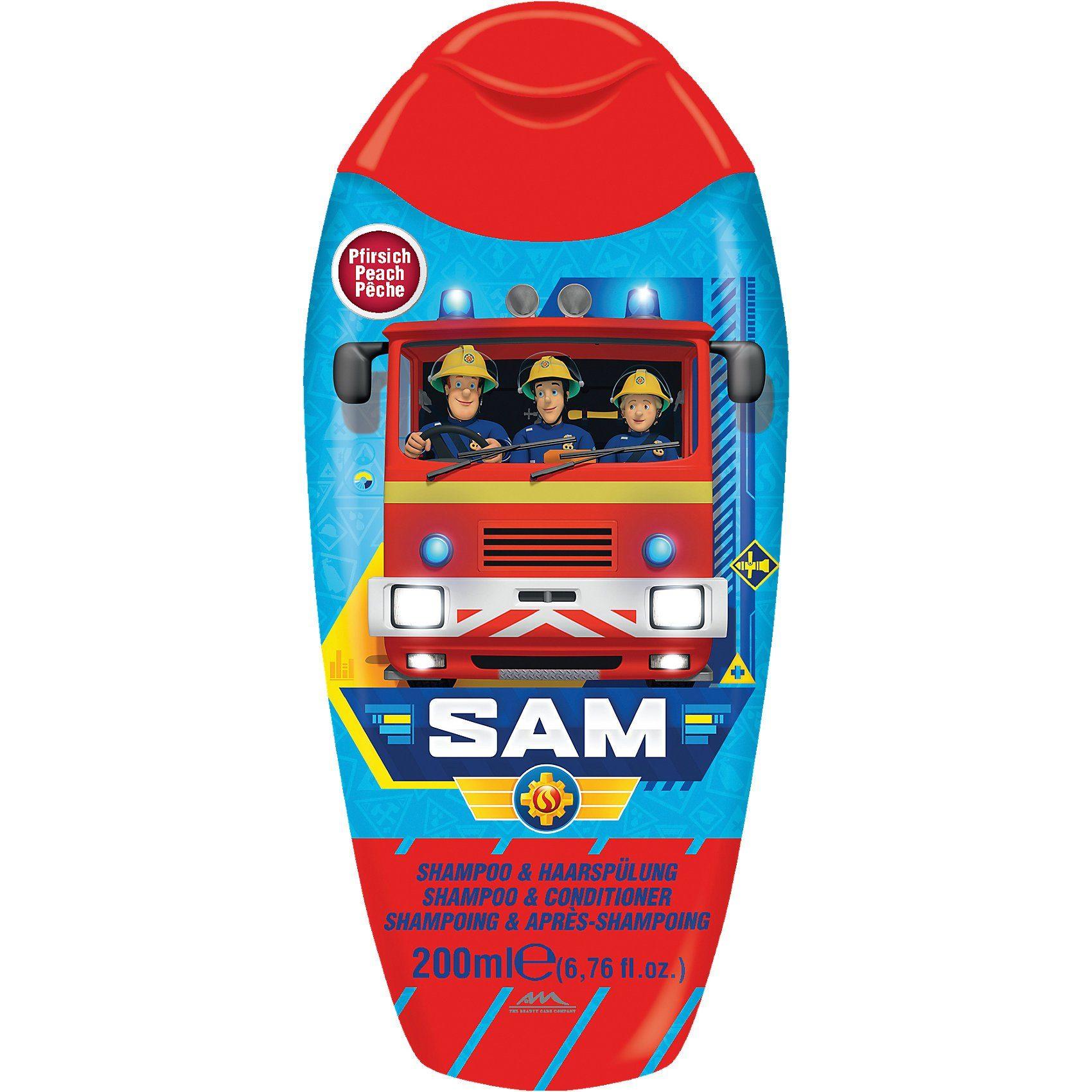 Shampoo- und Haarspülung, Feuerwehrmann Sam, 200 ml