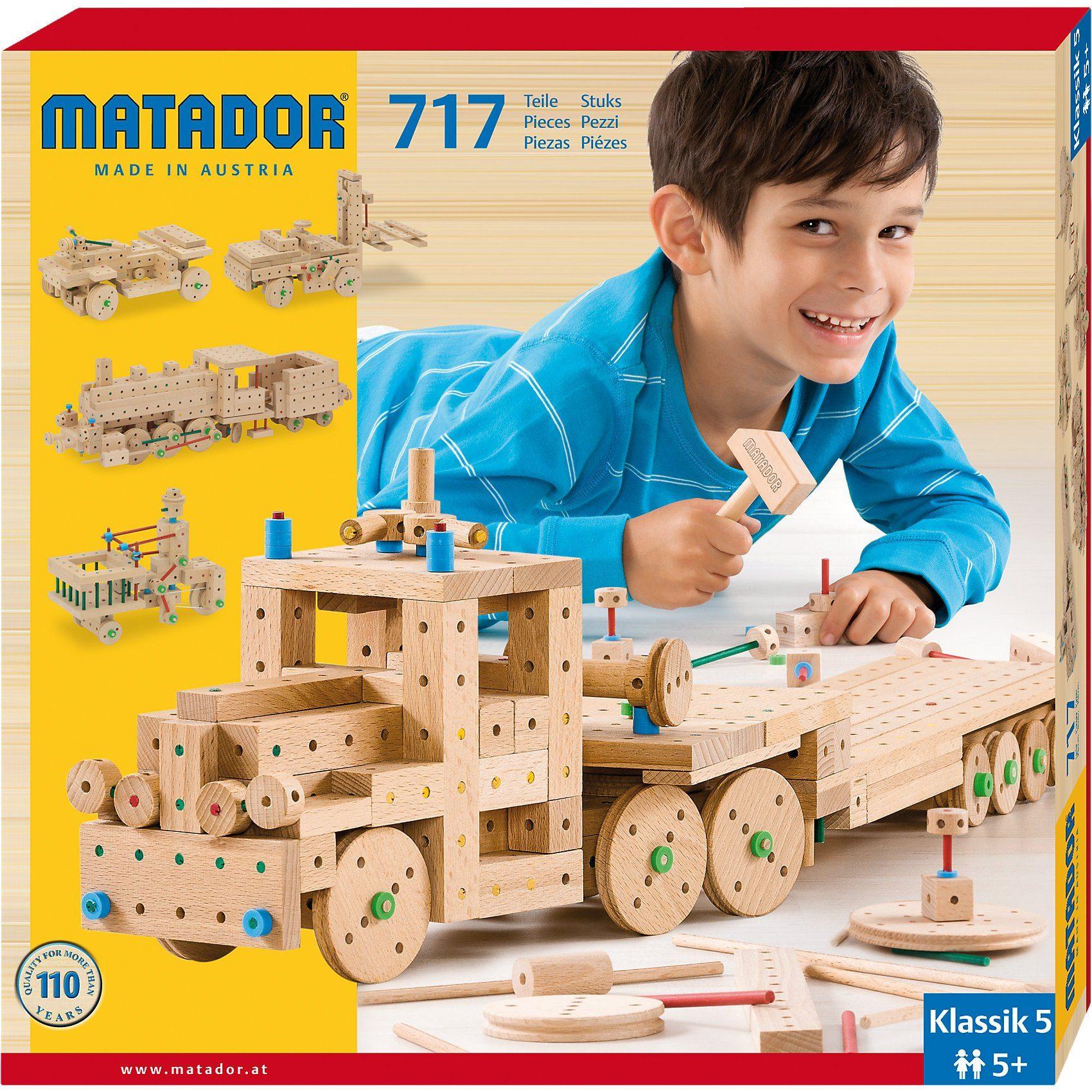 Matador Klassic Nr.5, 717 Teile