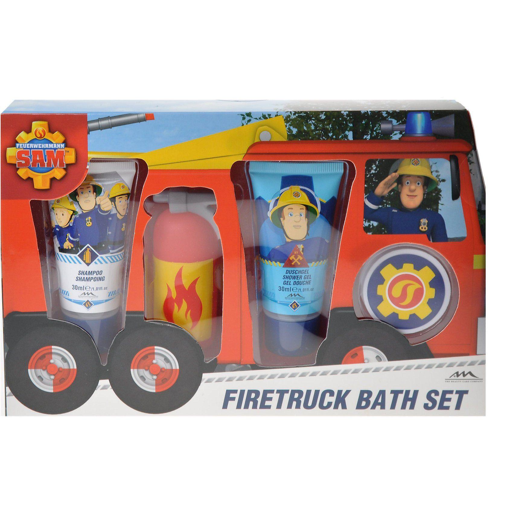 Badeset Feuerwehrmann Sam, 4-tlg.