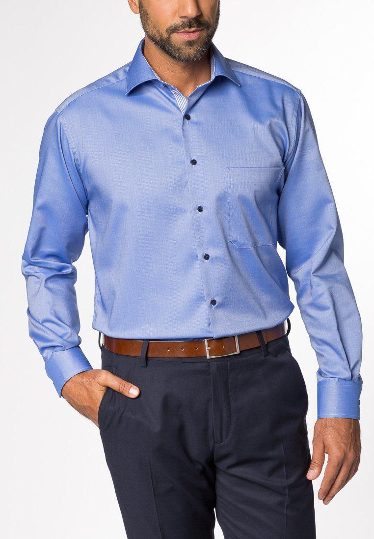 ETERNA Langarm Hemd »COMFORT FIT Natté strukturiert« - broschei