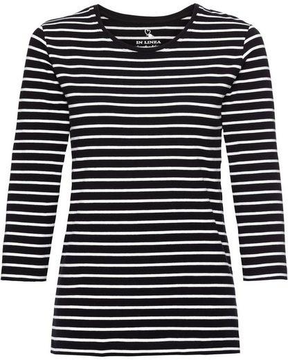 IN LINEA Langarm-Shirt, 3er-Pack