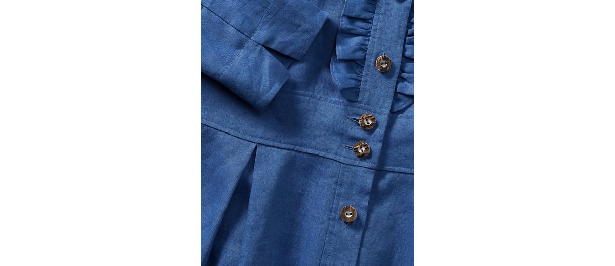Verkauf Heißen Verkauf Luis Steindl Leinenkleid mit Rüschen Steckdose Kostengünstig 2018 Günstig Online i82cby60o