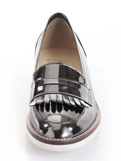 Alba Moda Loafer im Metallic-Look