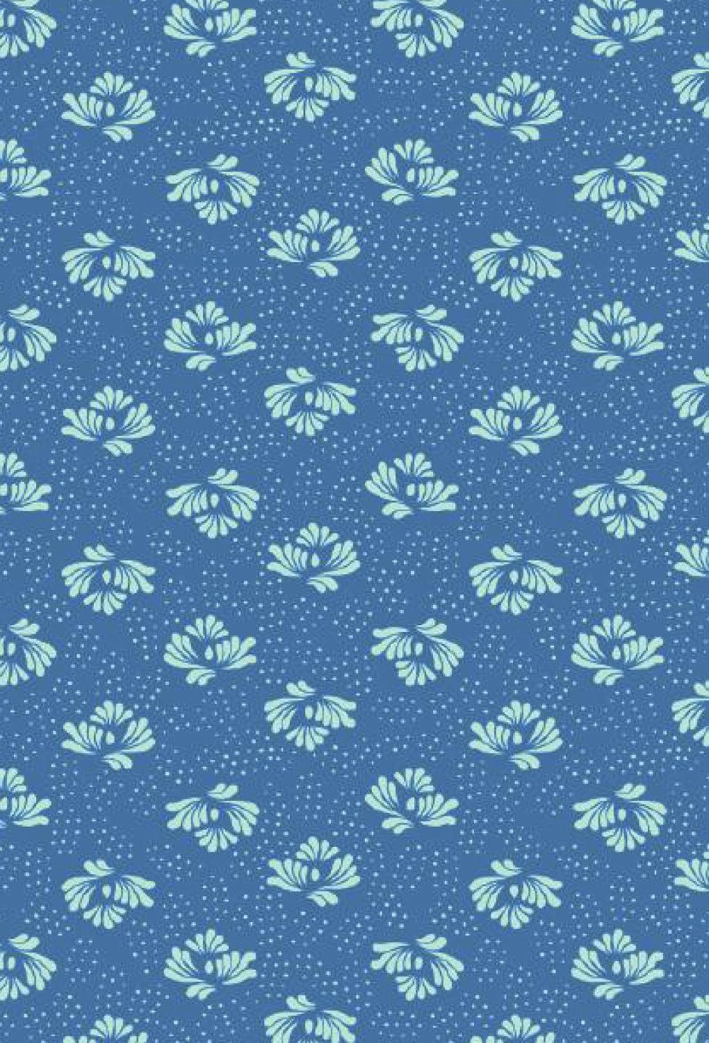 "décopatch Décopatch-Papier ""Blue Royal"""