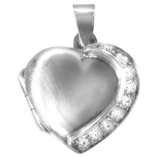 Vivance Medaillon »925/- Sterling Silber Herz«