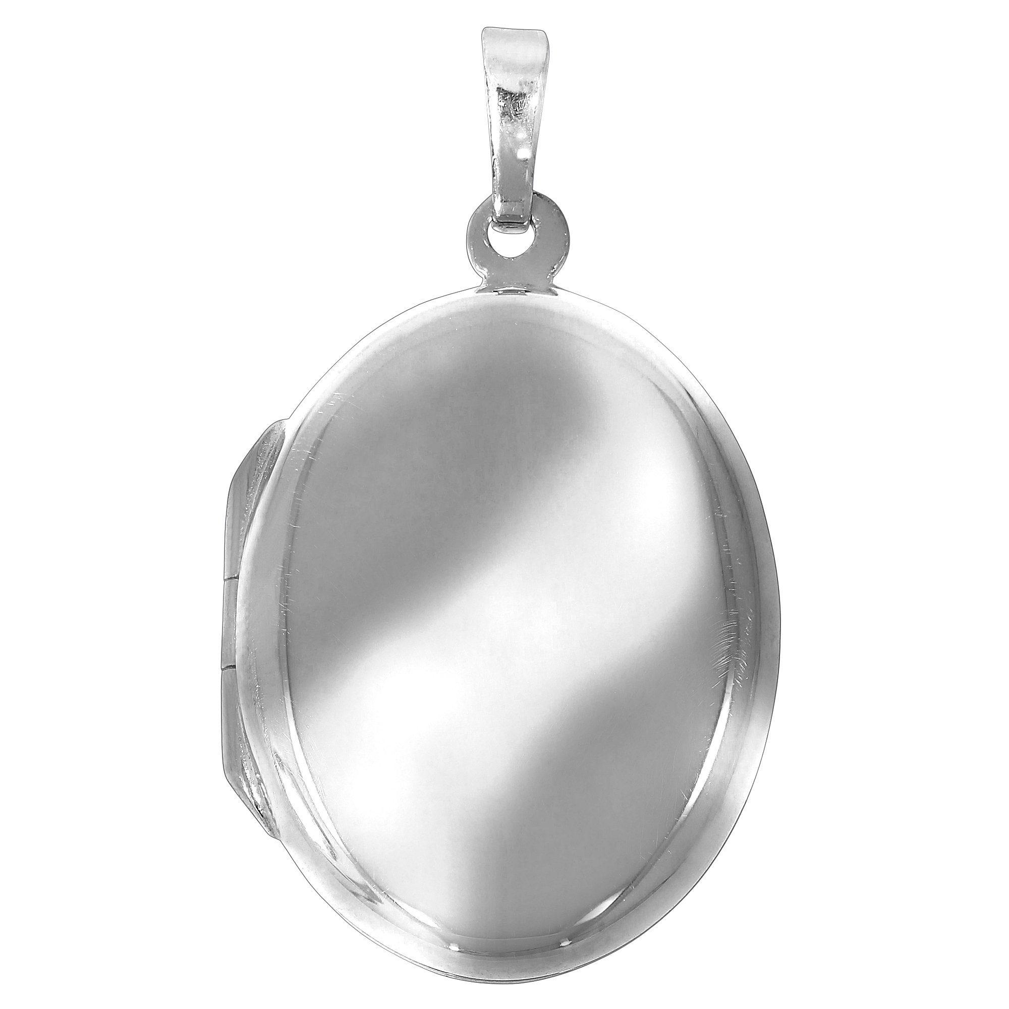 Firetti Anhänger 925/- Sterling Silber rhod. Medaillon