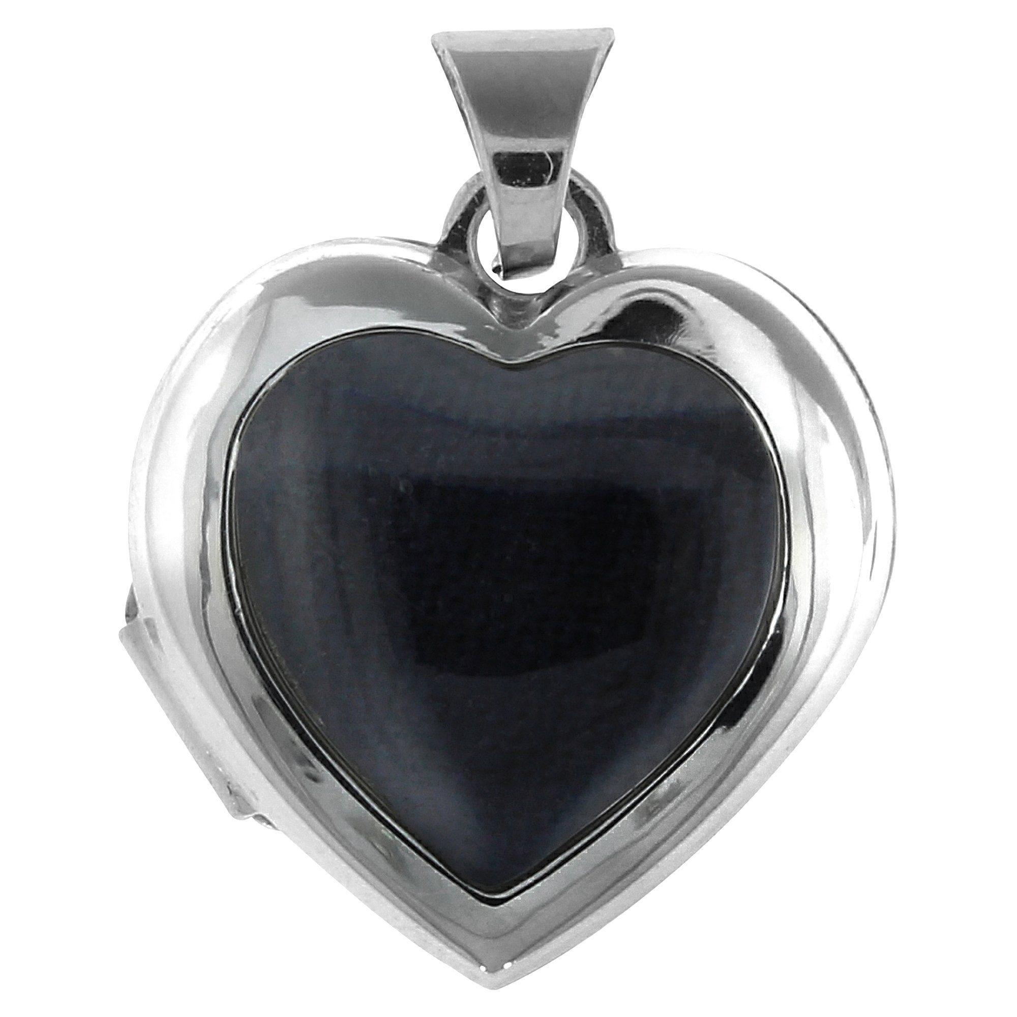 Firetti Anhänger 925/- Sterling Silber rhod Medaillon Herz | Schmuck > Halsketten > Herzketten | Silber | Firetti