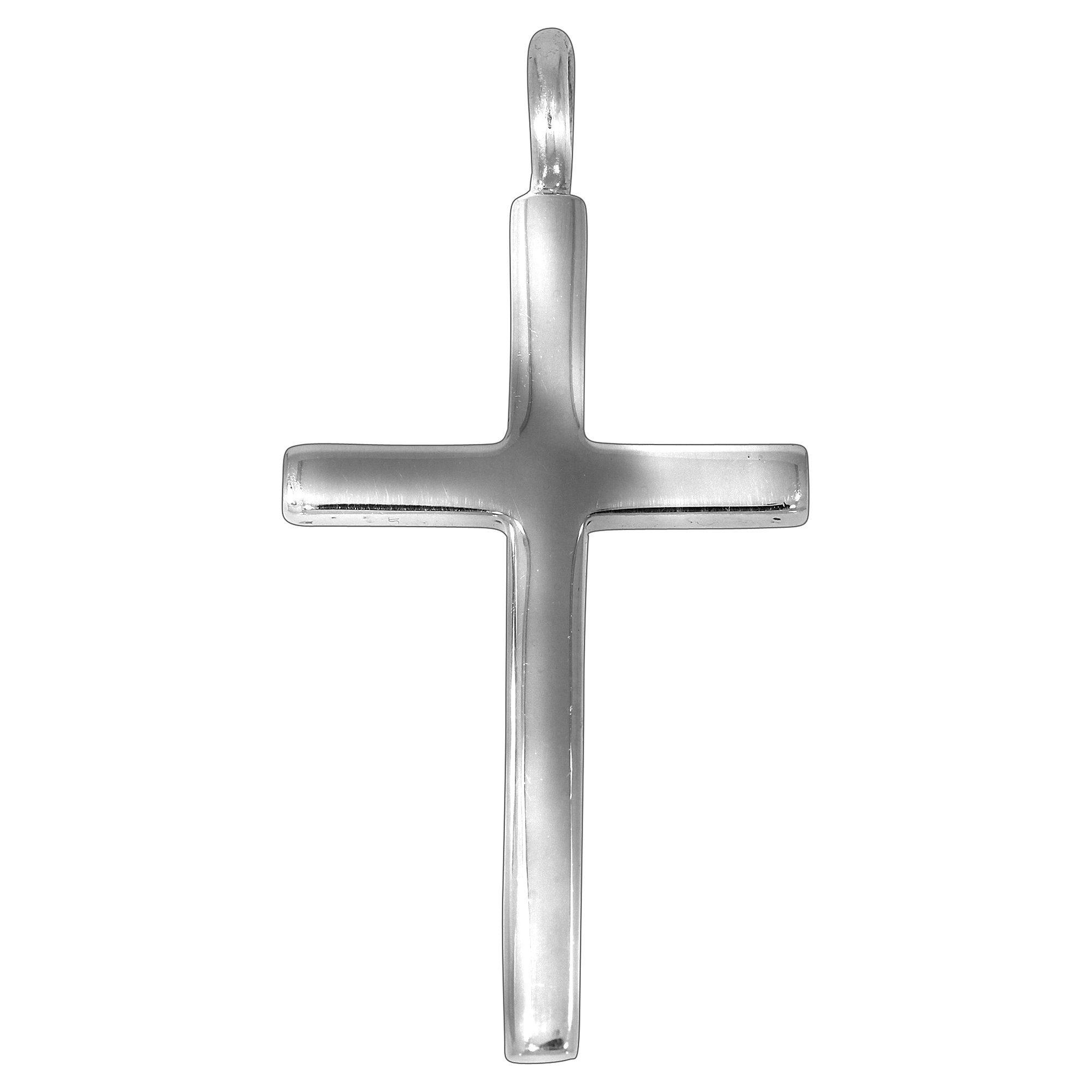 Firetti Anhänger »925/- Sterling Silber rhod. Kreuz«