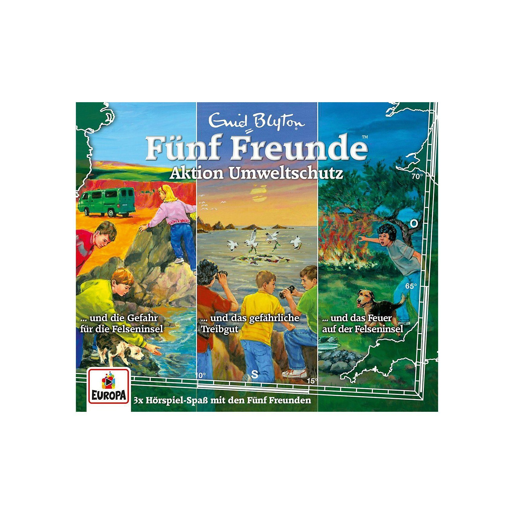 Sony CD Fünf Freunde 27 - 3er Box-Aktion Umweltschutz (69,96,113)