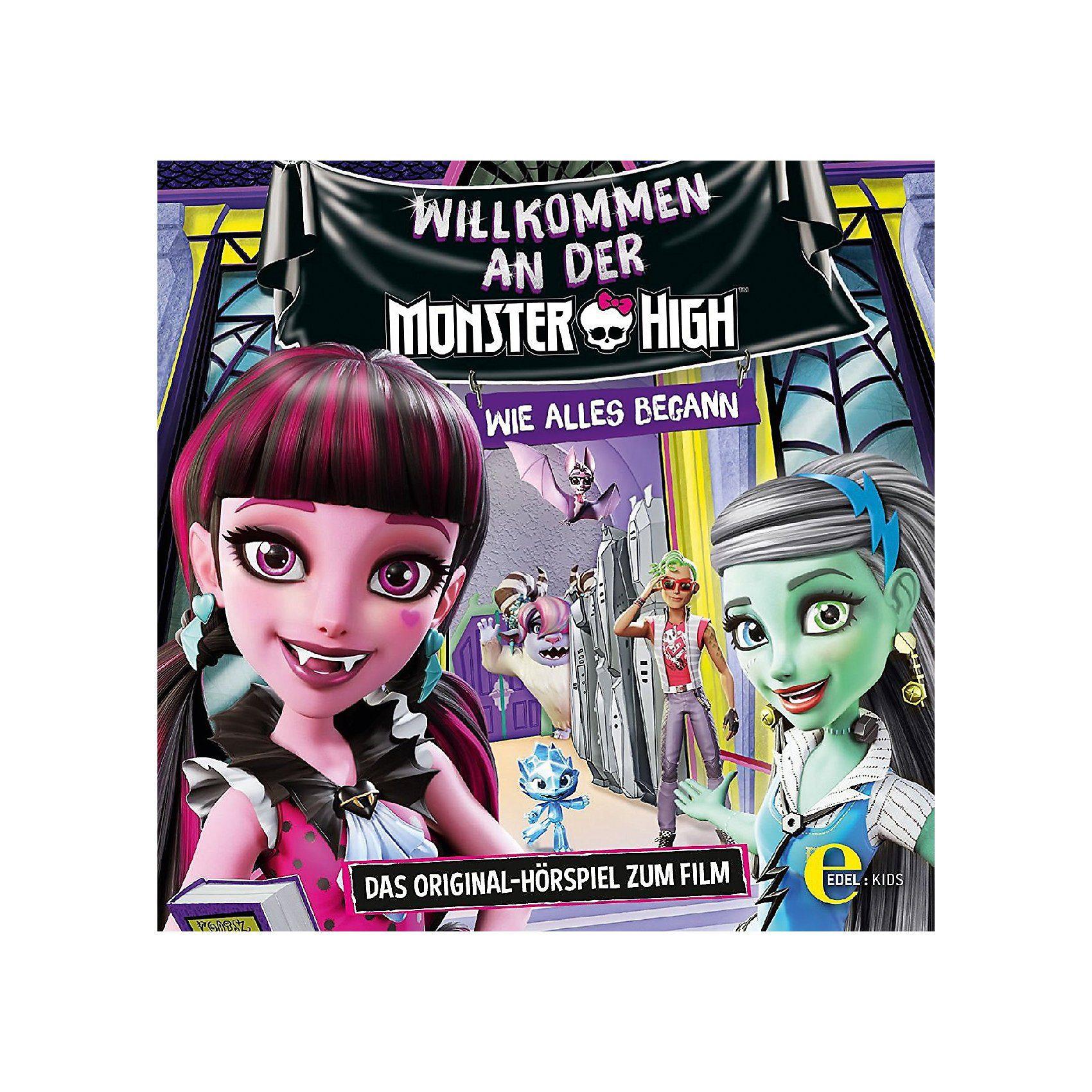 Edel CD Welcome to Monster High - Hörspiel zum Film