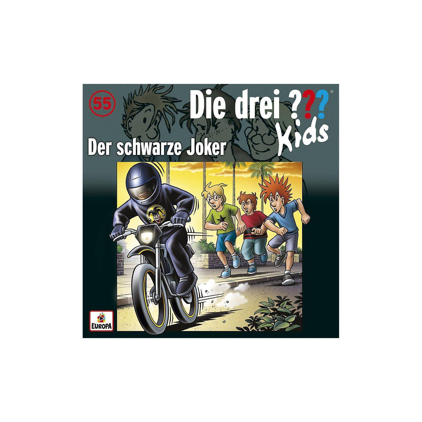 Sony CD Die Drei ??? Kids 55 - Der schwarze Joker
