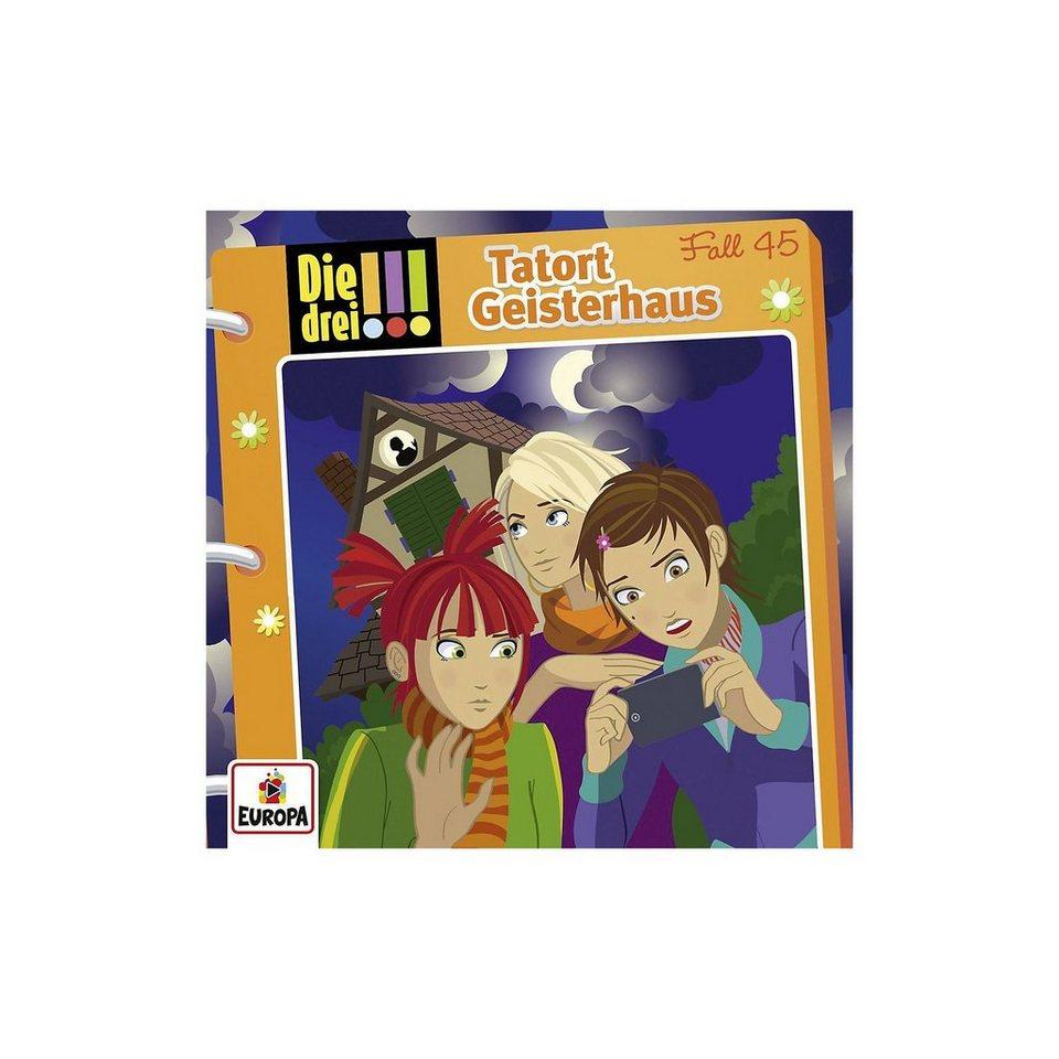 Sony CD Die drei !!! 045 - Tatort Geisterhaus
