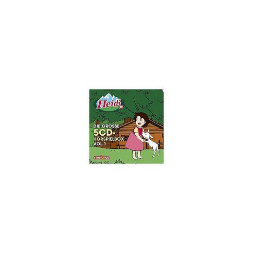 Universal CD Heidi: Die große 5CD-Hörspielbox Vol.1