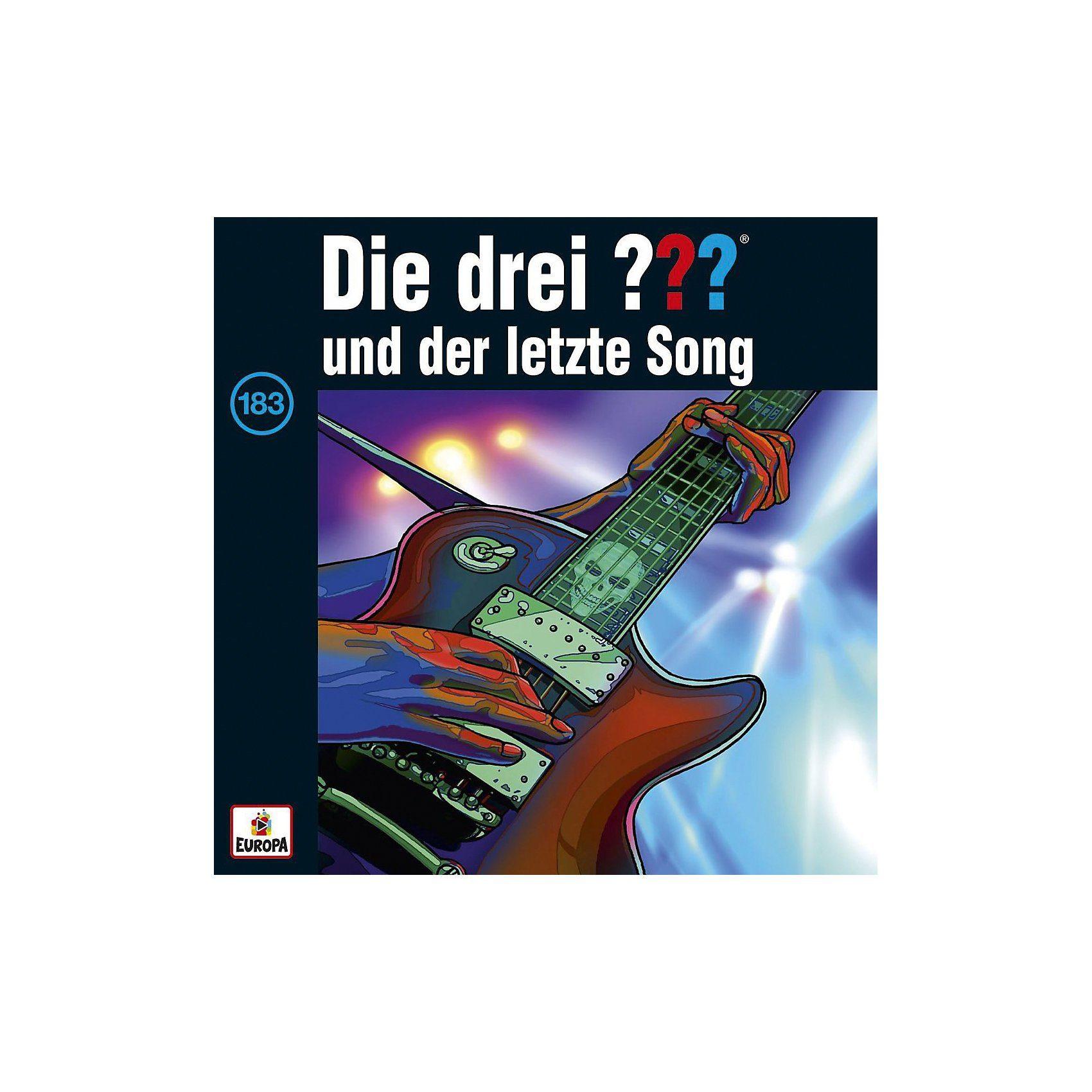 Sony CD Die Drei ??? 183 - und der letzte Song