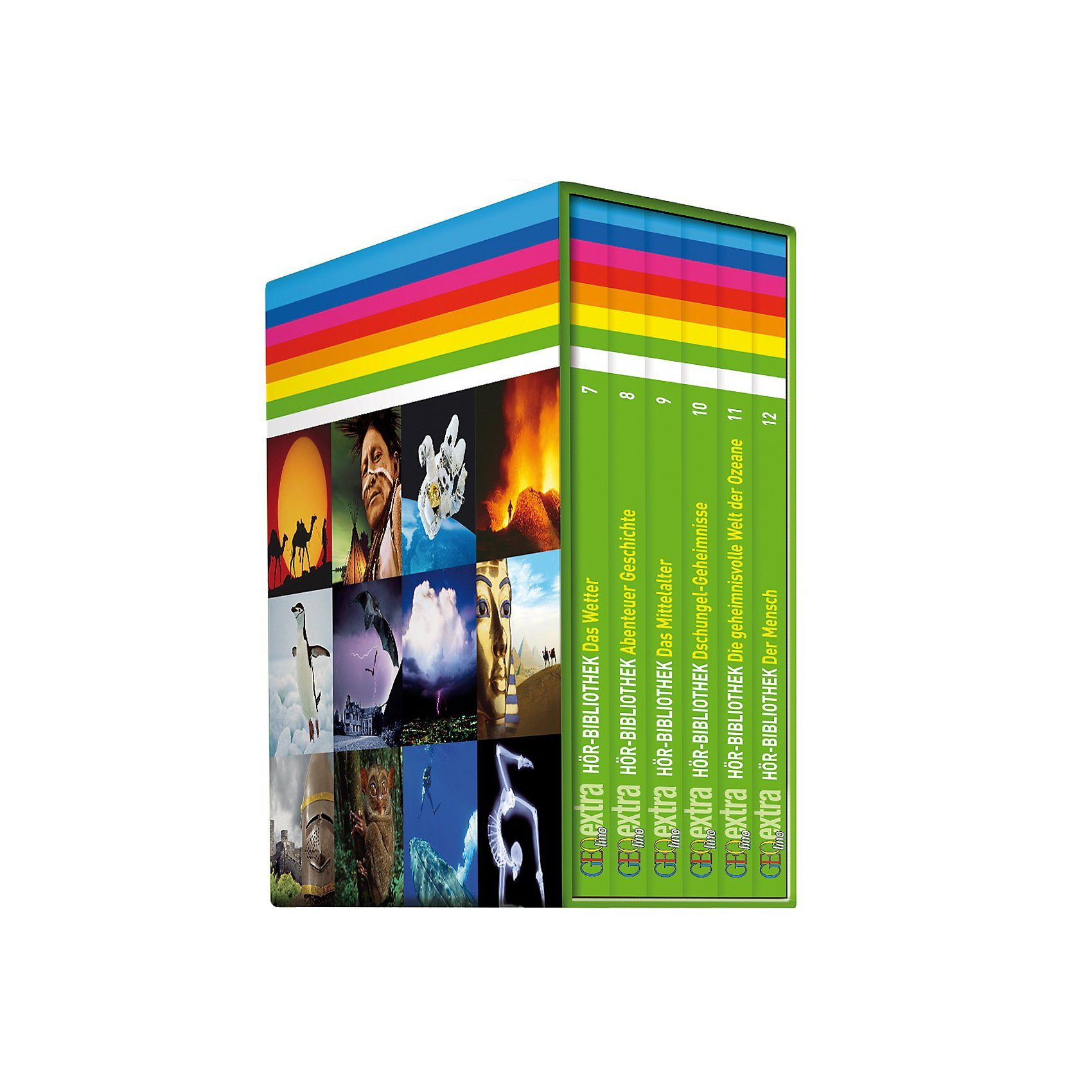 GEOlino Editions Box, 6 Audio-CDs