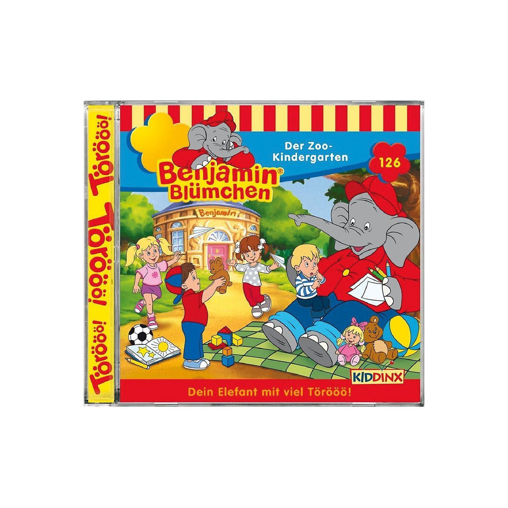 Kiddinx CD Benjamin Blümchen 126 - Der Zookindergarten