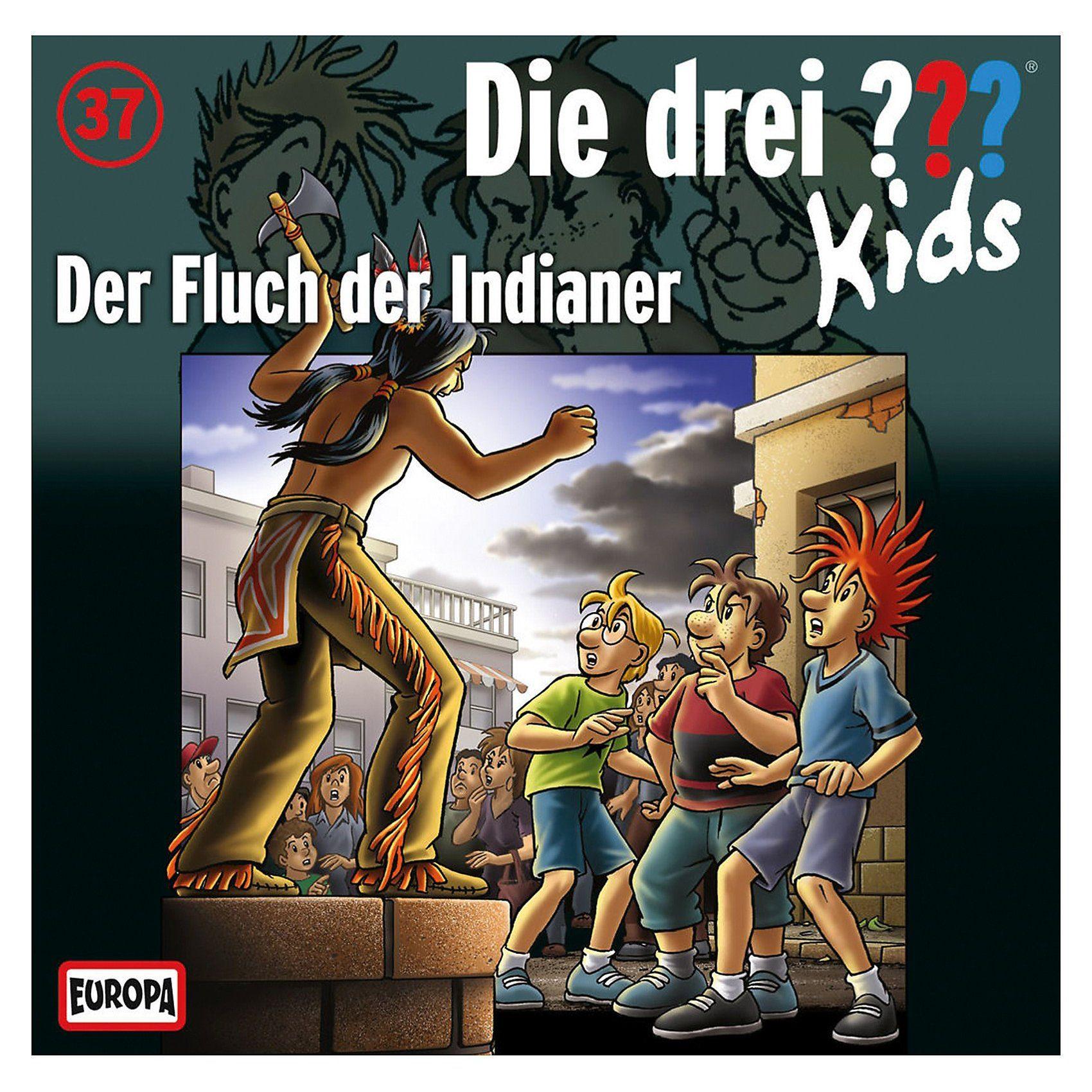 Sony CD Die drei ??? Kids 37 - Der Fluch der Indianer