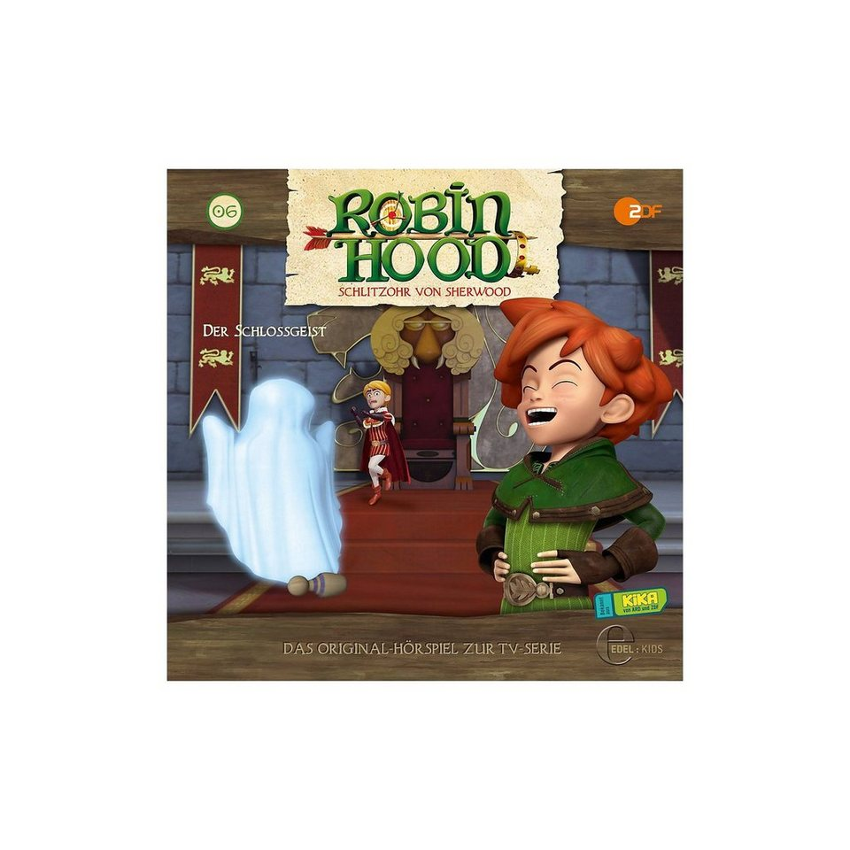 Edel CD CD Robin Hood: Schlitzohr von Sherwood 06