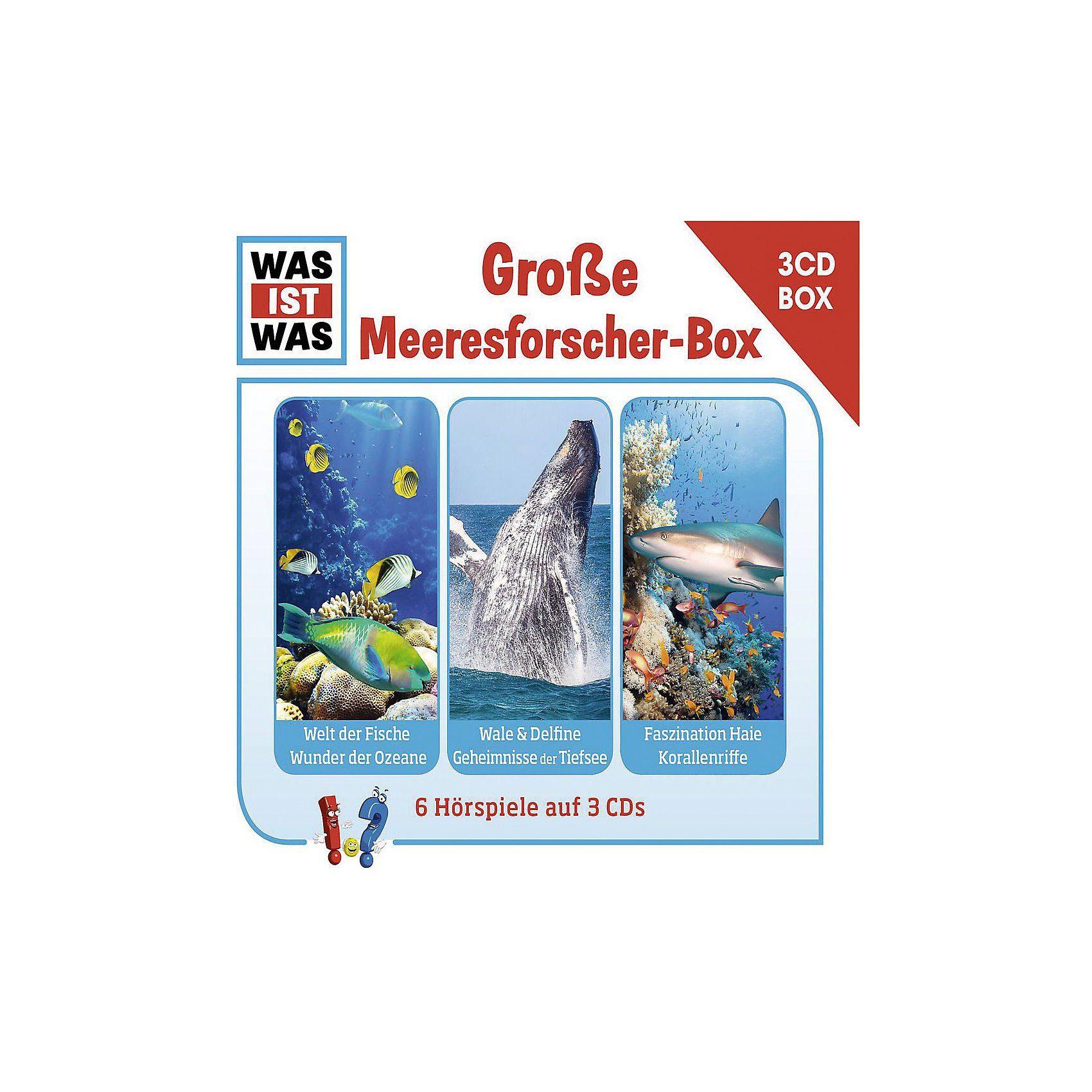 Universal CD Was Ist Was Hörspielbox 5 - Die große Meeresforscher-Box