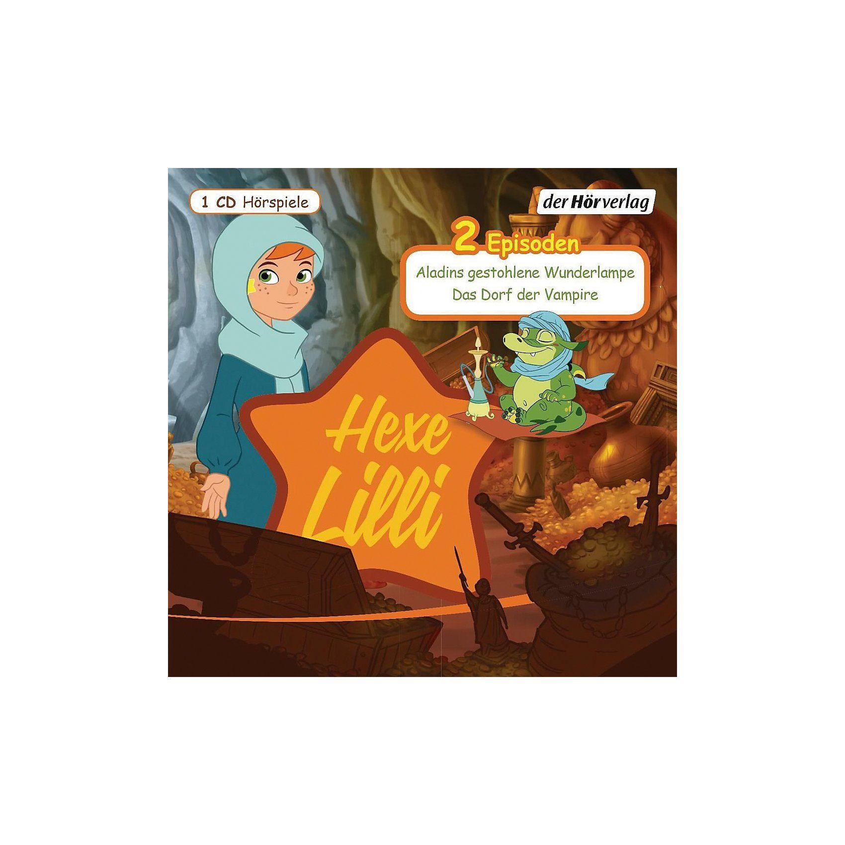 Edel CD Hexe Lilli 12 - Aladins gestohlene Wunderlampe/Das Dorf d