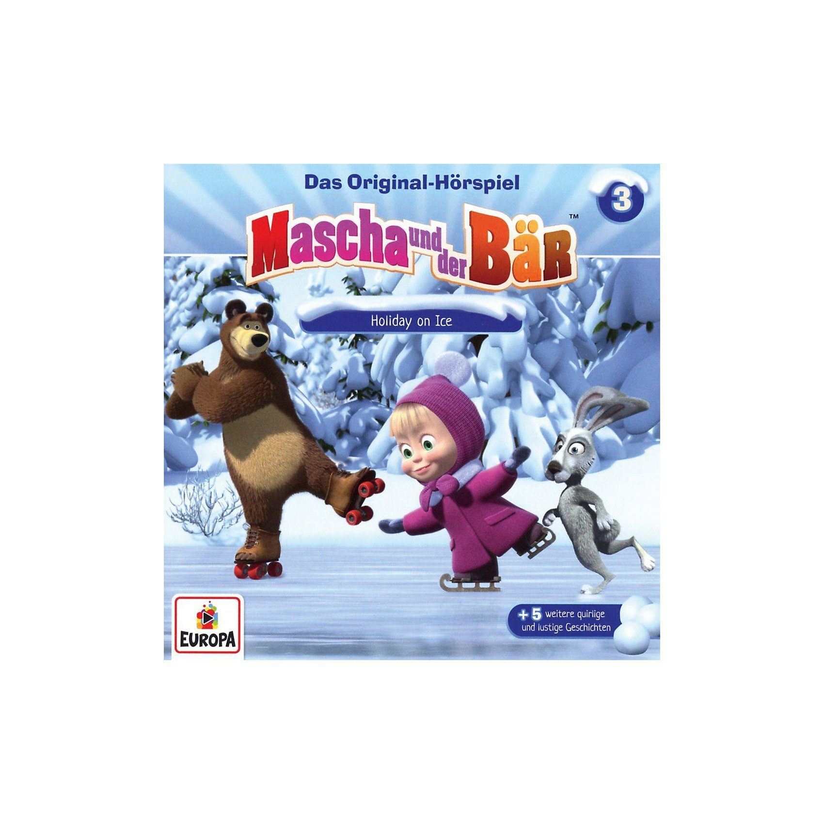 Sony CD Mascha und der Bär 3 - Holiday on Ice