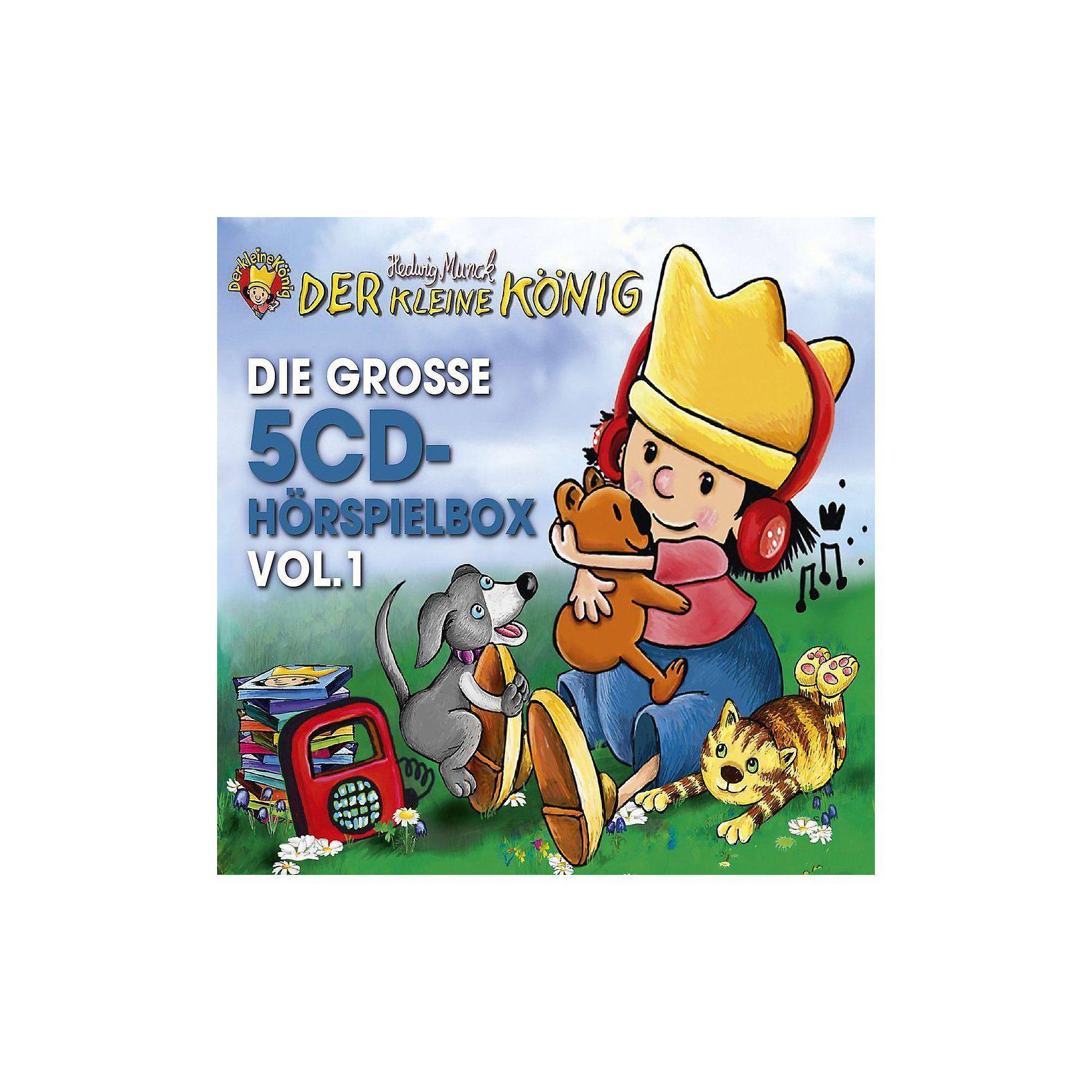 Universal CD Der kleine König - Die Große 5-CD Hörspielbox Vol.1