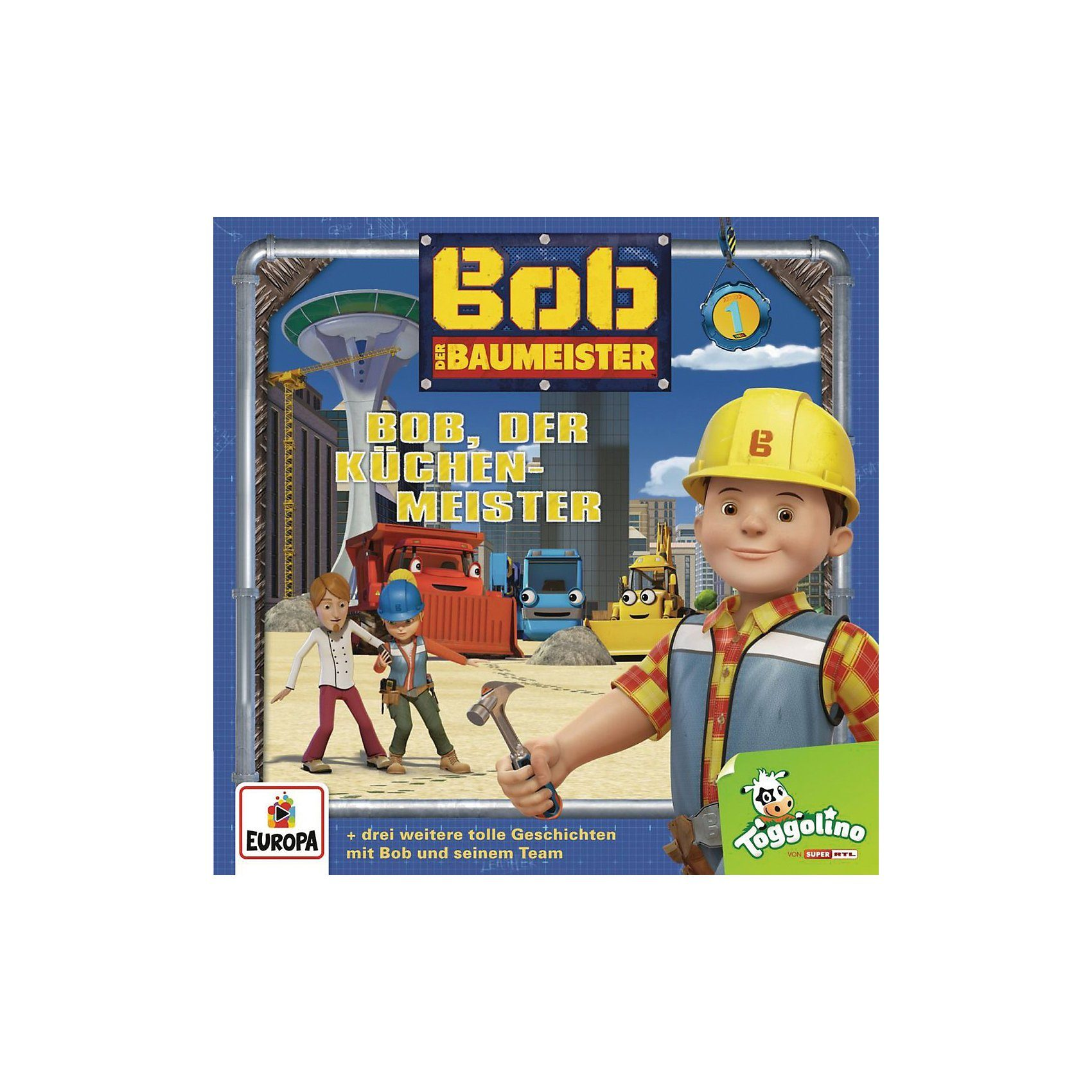 Sony CD Bob der Baumeister Relaunch 1