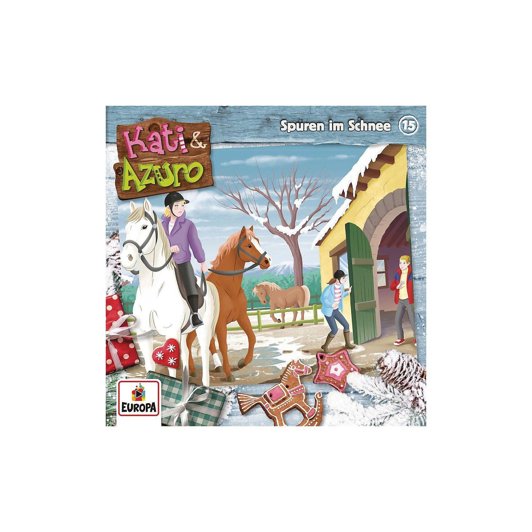 Sony CD Kati & Azuro 15 - Spuren im Schnee